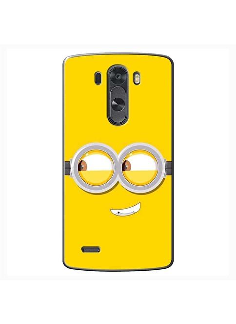 People's Cover Lg G3 Mini Kabartmalı Telefon Kılıfı Renkli